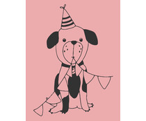 Colop Dog Rose M&B Rubber Stamps (MB0049)