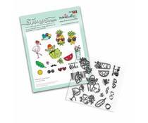 Polkadoodles Tropical Fever Clear Stamps (PD8195)