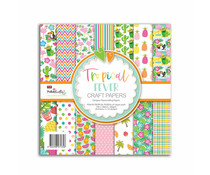 Polkadoodles Tropical Fever 6x6 Inch Paper Pack (PD8193)