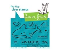 Lawn Fawn Duh-nuh Flip-Flop Clear Stamps (LF2597)