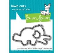 Lawn Fawn I like Naps Dies (LF2164)