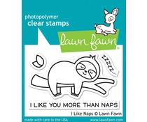 Lawn Fawn I Like Naps Clear Stamps (LF2163)