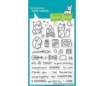 Lawn Fawn S'more the Merrier Clear Stamps (LF2593)