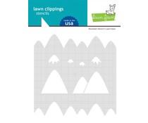 Lawn Fawn Mountain Stencils (LF2627)