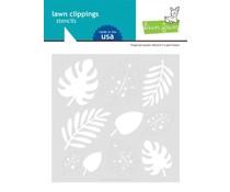 Lawn Fawn Tropical Leaves Stencils (LF2625)