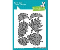 Lawn Fawn Tropical Leaves Dies (LF2617)