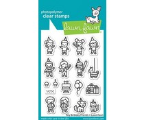 Lawn Fawn Tiny Birthday Friends Clear Stamps (LF2601)