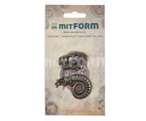 Mitform Prehistory 3 Metal Embellishments (MITS065)