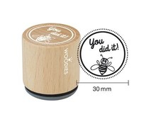 Woodies You did it! Rubber Stamp (WE1301)