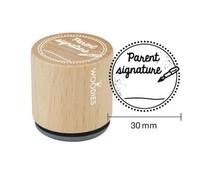 Woodies Parent signature Rubber Stamp (WE1305)
