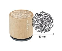 Woodies Ornament Rubber Stamp (W18007)