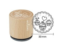 Woodies Tartlets Rubber Stamp (W17008)