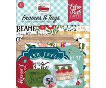 Echo Park Farmer's Market Frames & Tags (FM248025)
