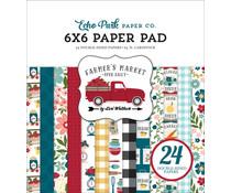 Echo Park Farmer's Market 6x6 Inch Paper Pad (FM248023)
