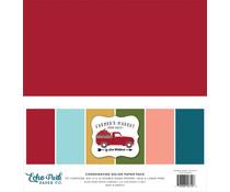 Echo Park Farmer's Market 12x12 Inch Coordinating Solids Paper Pack (FM248015)
