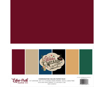 Echo Park Witches & Wizards No.2 12x12 Inch Coordinating Solids Paper Pack (WIW247015)