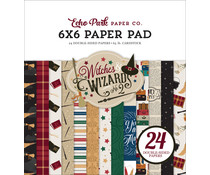 Echo Park Witches & Wizards No.2 6x6 Inch Paper Pad (WIW247023)
