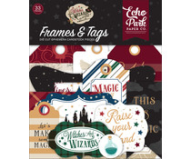 Echo Park Witches & Wizards No.2 Frames & Tags (WIW247025)