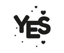 Nio Yes With Hearts Standard Design (NI2035)