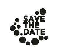 Nio SaveThe Date Dots Standard Design (NI2007)