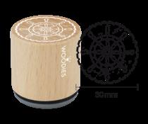 Woodies Steering Wheel Rubber Stamp (W25003)