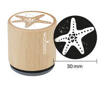 Woodies Starfish Rubber Stamp (W10009)
