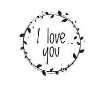 Nio I Love You Laurels Standard Design (NI2016)