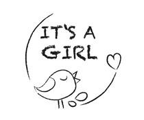 Nio It's a Girl Birdy Standard Design (NI2003)