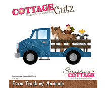 Scrapping Cottage Farm Truck with Animals (CC-898)