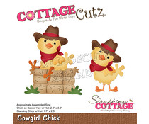 Scrapping Cottage Cowgirl Chick (CC-892)