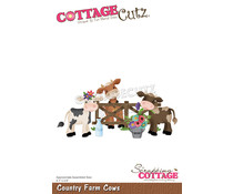 Scrapping Cottage Country Farm Cows (CC-889)