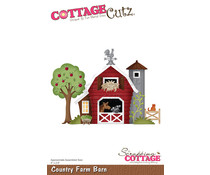 Scrapping Cottage Country Farm Barn (CC-887)