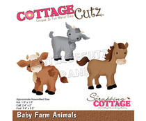 Scrapping Cottage Baby Farm Animals (CC-886)