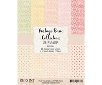 Reprint Basic Collection Summer 6x6 Inch Paper Pack (RPP058)