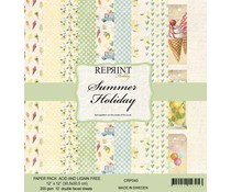 Reprint Summer Holiday Collection 12x12 Inch Paper Pack (CRP040)
