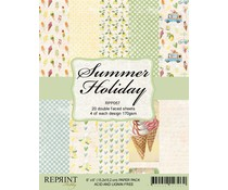 Reprint Summer Holiday Collection 6x6 Inch Paper Pack (RPP057)