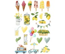 Reprint Summer Holiday Collection A4 Cutouts (KP0081)