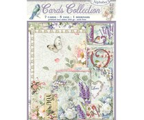 Stamperia Cards Collection Flower Alphabet (SBCARD06)