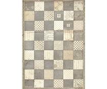 Stamperia Rice Paper A4 Alice Chessboard (6 pcs) (DFSA4605)