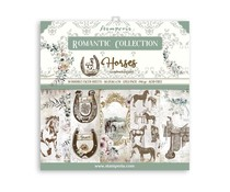 Stamperia Romantic Horses 12x12 Inch Paper Pack (SBBL90)