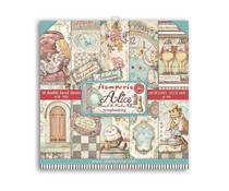 Stamperia Alice Through the Looking Glass 12x12 Inch Paper Pack (SBBL93)