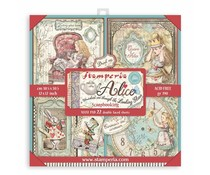 Stamperia Alice in Wonderland and Through the Looking Glass 12x12 Inch Maxi Paper Pack (SBBXL12)