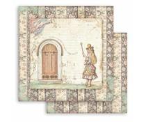 Stamperia Alice Door 12x12 Inch Paper Sheets (10pcs) (SBB819)
