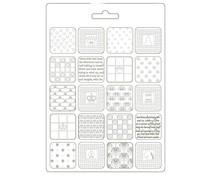 Stamperia Soft Mould A5 Alice Patchwork (K3PTA589)