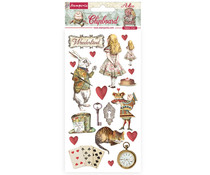 Stamperia Chipboard 15x30cm Alice In Wonderland (DFLCB39)