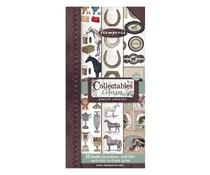 Stamperia Romantic Horses 6x12 Inch Paper Pack (SBBV06)
