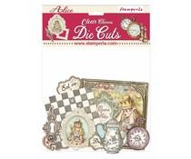 Stamperia Alice Charms Clear Die Cuts (DFLDCP18)