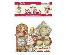 Stamperia Alice Through the Looking Glass Clear Die Cuts (DFLDCP11)