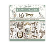 Stamperia Romantic Horses 8x8 Inch Paper Pack (SBBS39)