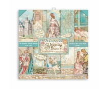 Stamperia Sleeping Beauty 8x8 Inch Paper Pack (SBBS38)